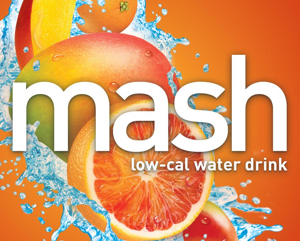 Mash low cal water drink