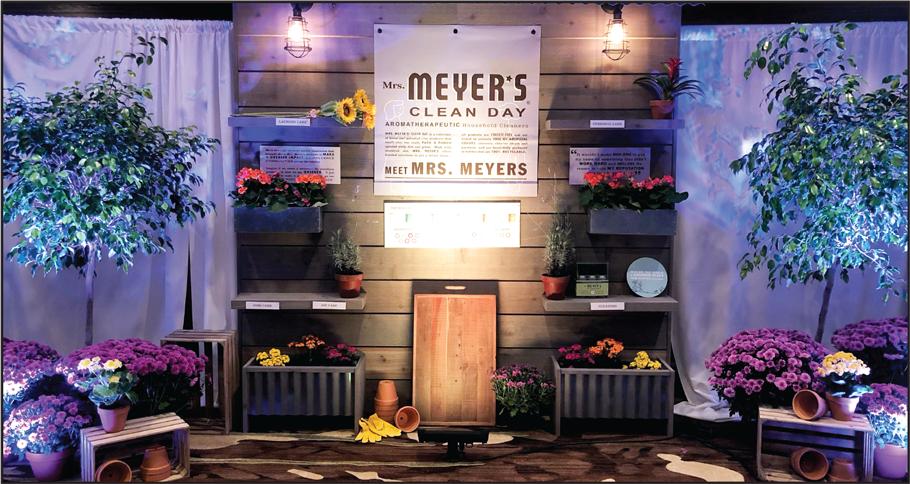 Mrs Meyers presentation display